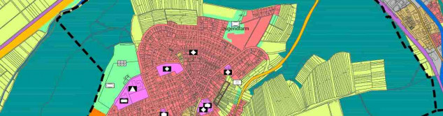 Ausschnitt aus dem Flächennutzungsplan zur Veranschaulichung