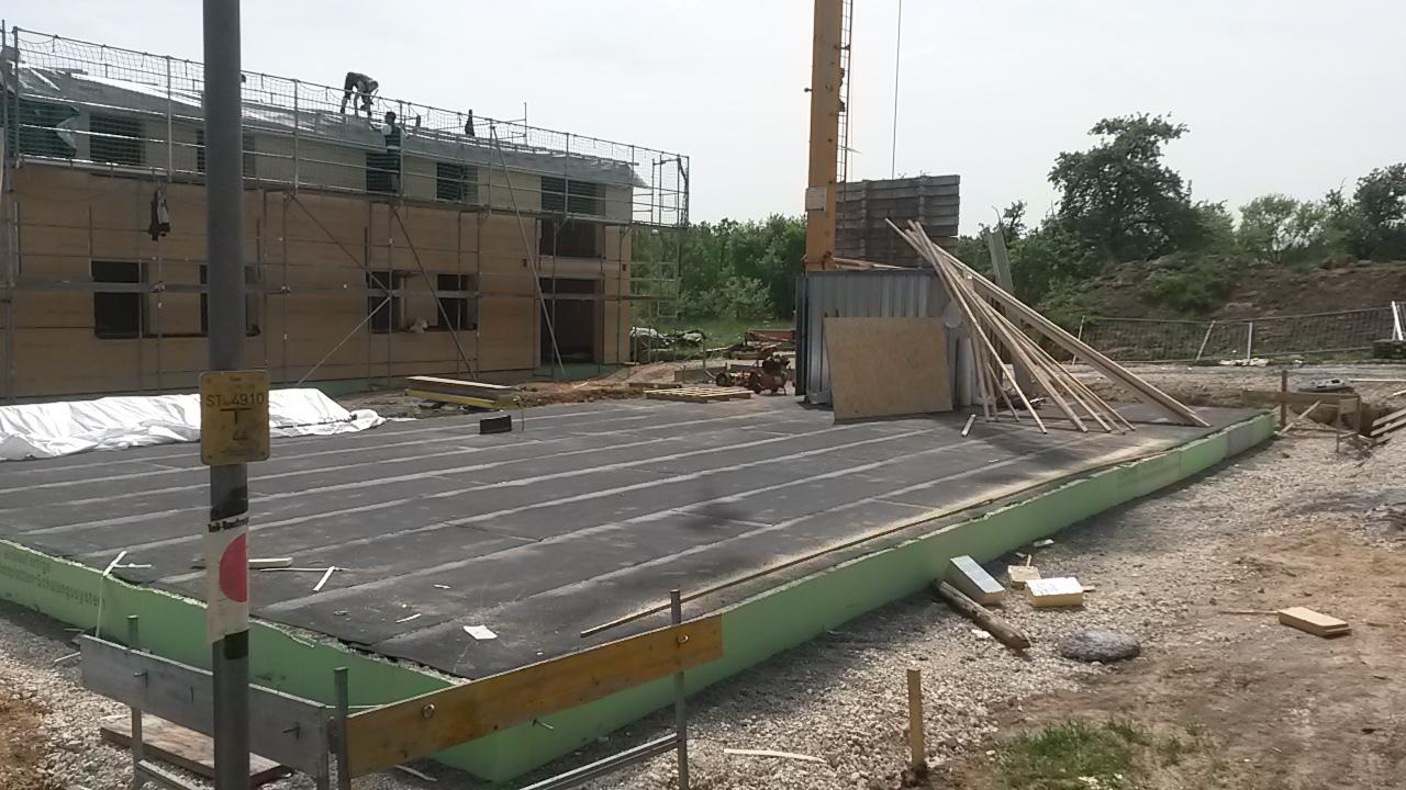 Aufbau der Gebäude im Kohl