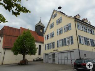 Kirche und Rathaus Wankheim