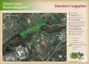 Übersichtskarte Eduard-Lucas-Pfad
